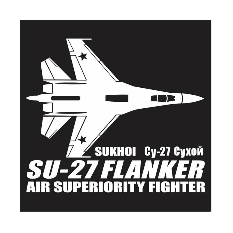 Kyle Su-27 Flanker Cutting Sticker