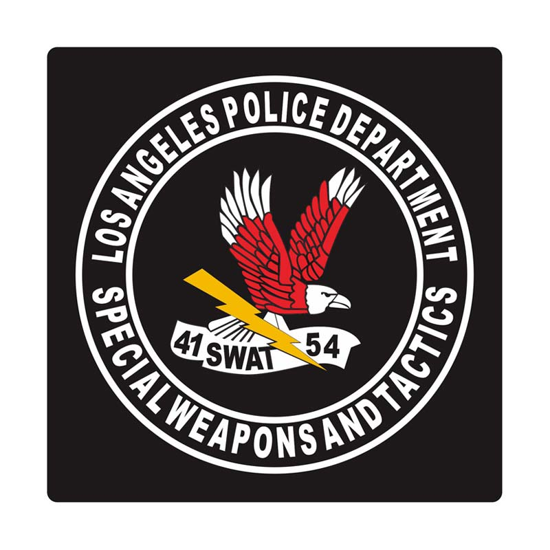 Kyle SWAT Special Weapon And Tactics Cutting Sticker