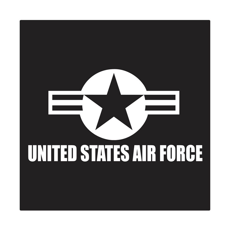 Kyle U.S. Air Force Marking Cutting Sticker