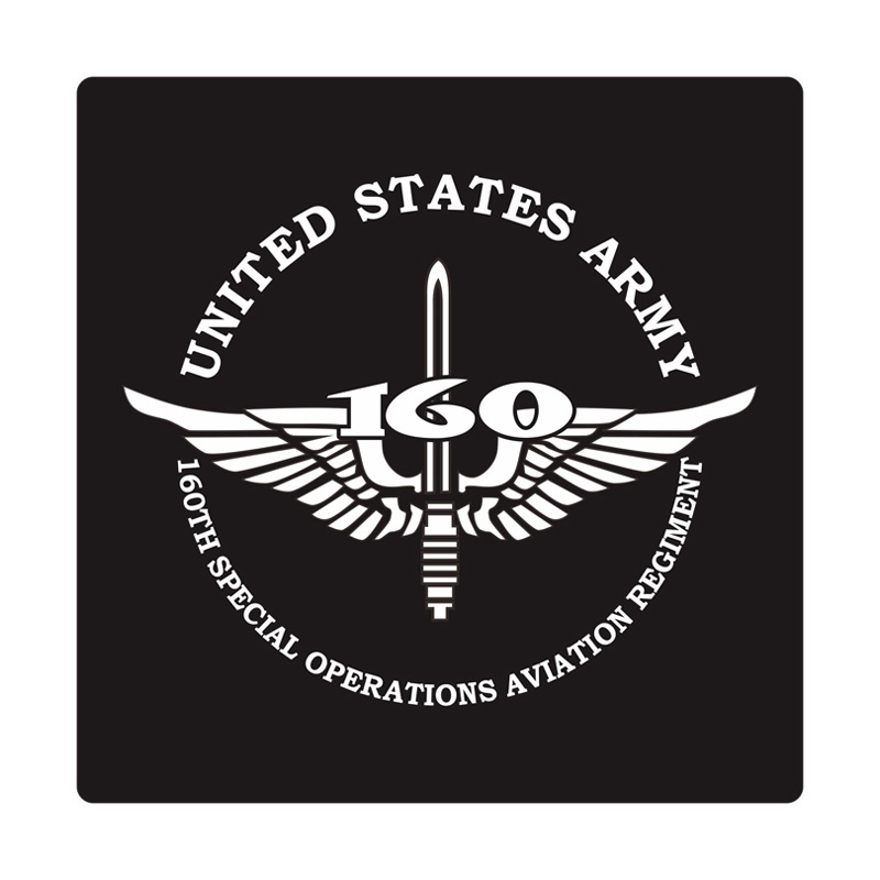 Kyle U.S. Army 160th Special Operations Aviation Regiment Cutting Sticker