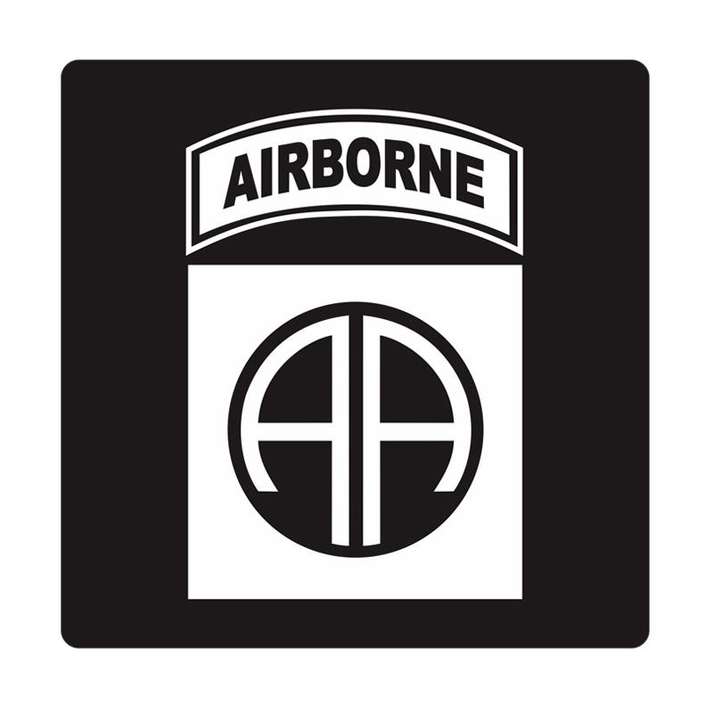 Kyle U.S. Army 82nd Airborne All American Cutting Sticker