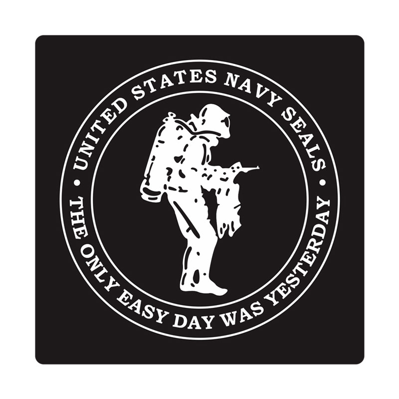 Kyle U.S. Navy Seals Scuba Diver 1 Cutting Sticker
