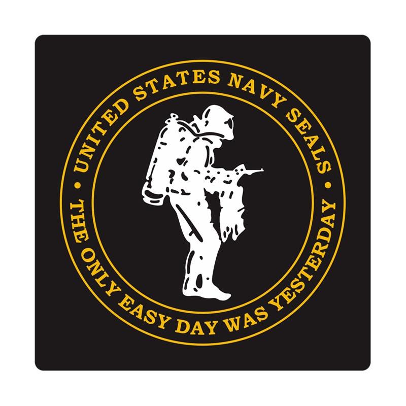 Kyle U.S. Navy Seals Scuba Divers 2 Cutting Sticker