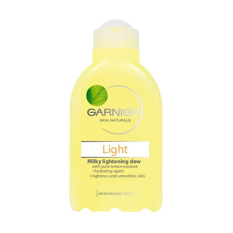 Garnier Light Complete Milky Lightening Dew Toner Pembersih Wajah [150 mL]