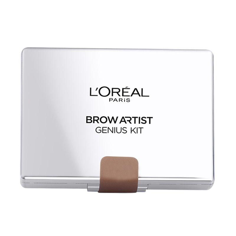 L'Oreal Paris Makeup Brow Artist Genius Kit - Medium to Dark