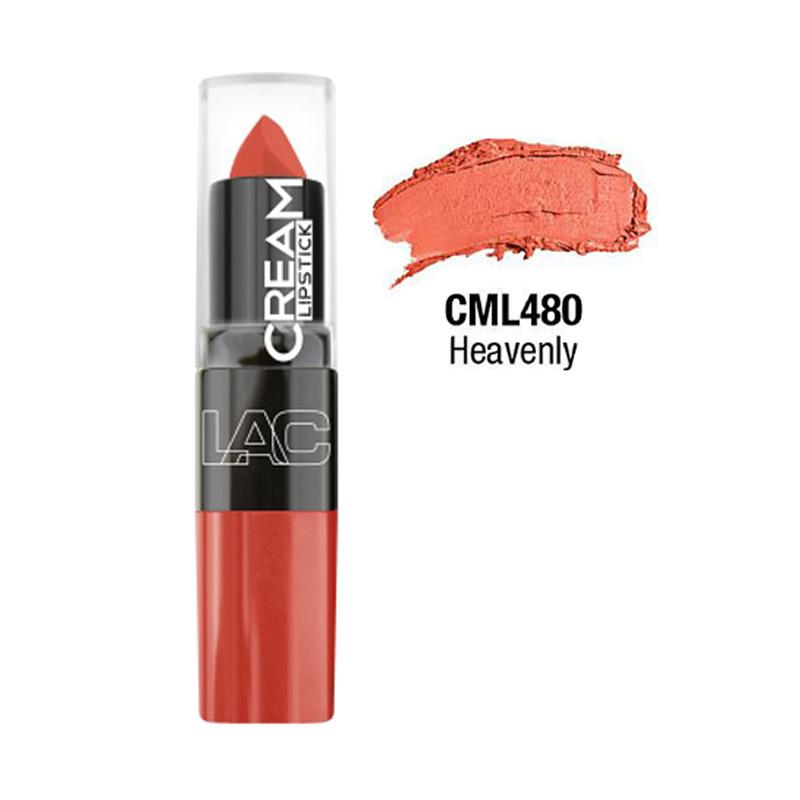 LA Colors Moisture Cream Lipstick - Heavenly