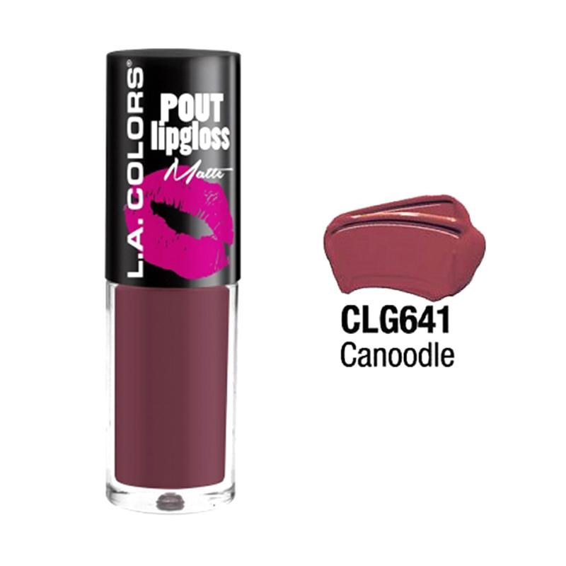 LA Colors Pout Matte Canoodle Lipgloss