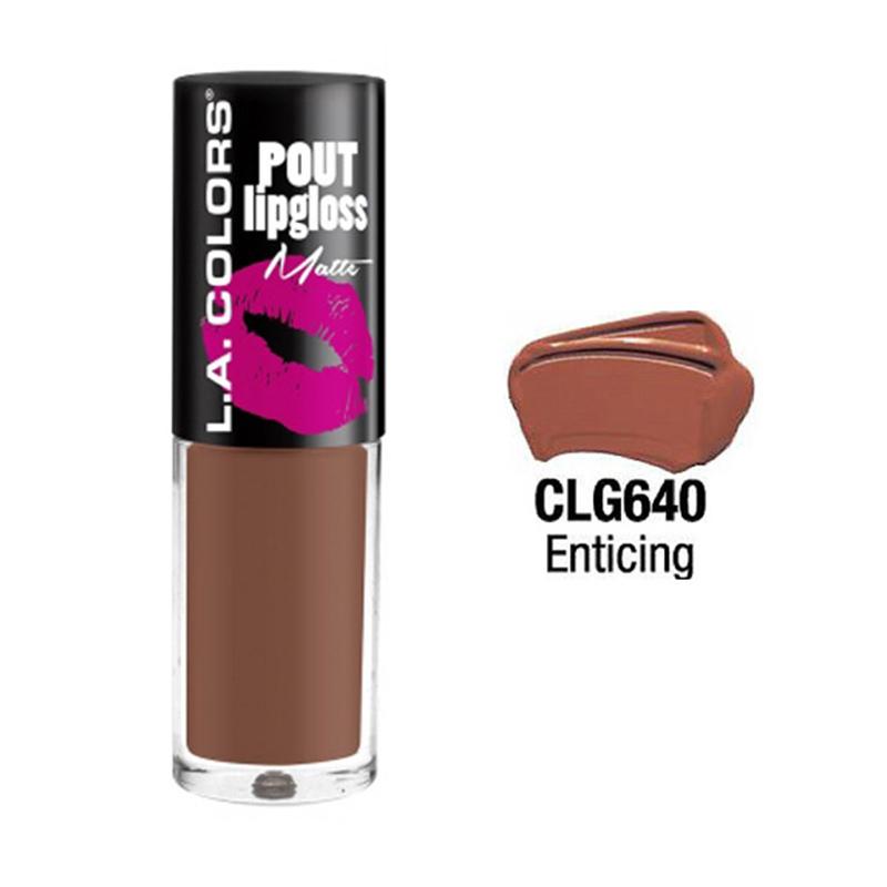 LA Colors Pout Matte Enticing Lipgloss