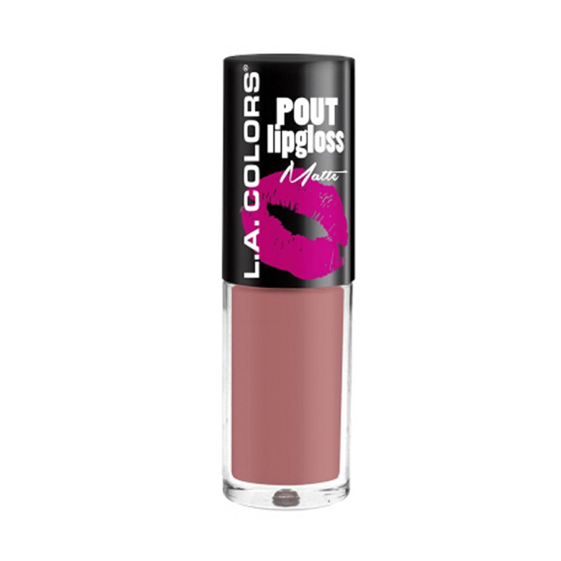 LA Colors Pout Matte Lipgloss - Lets Kiss
