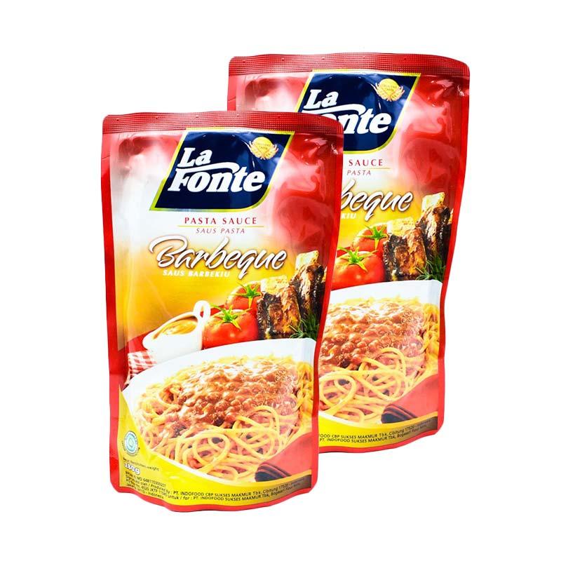 harga La Fonte Pasta Sauce Berbeque - 280gr x 2pc Blibli.com
