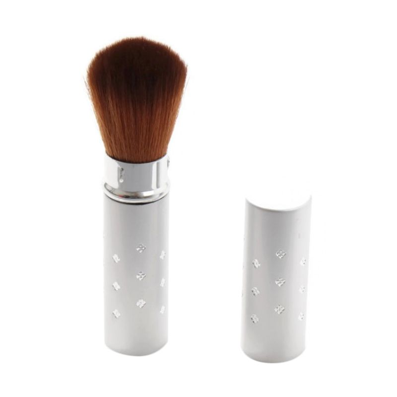 Rhomlon BL-001A Silver Brush Alat Make-Up