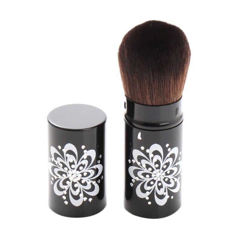 Rhomlon BL-004 Hitam Brush Alat Make-Up