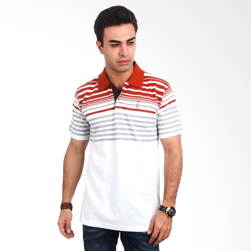 Kamis Ganteng - Labette Stripe Red White Polo Shirt Extra diskon 7% setiap hari Extra diskon 5% setiap hari Citibank – lebih hemat 10%