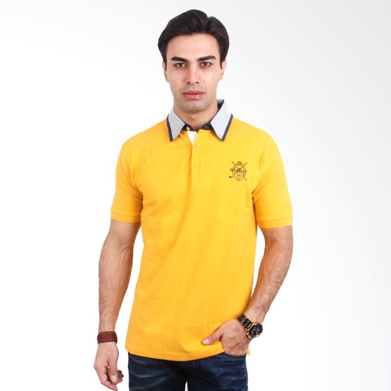 Labette Polo Shirt Basic Yellow