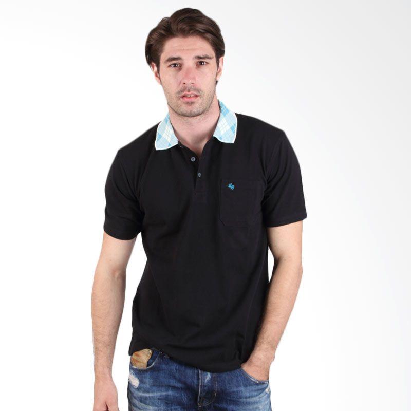 Labette Polo Shirt Black With Print Collar 102461610 Extra diskon 7% setiap hari Extra diskon 5% setiap hari Citibank – lebih hemat 10%