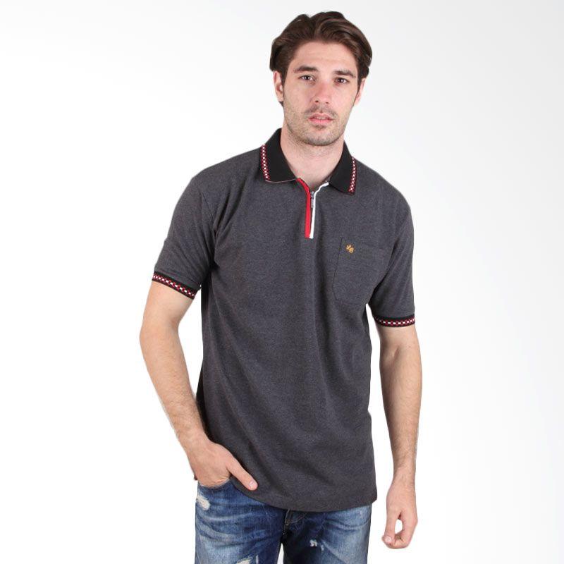 Labette Polo Shirt Dark Grey 102462019