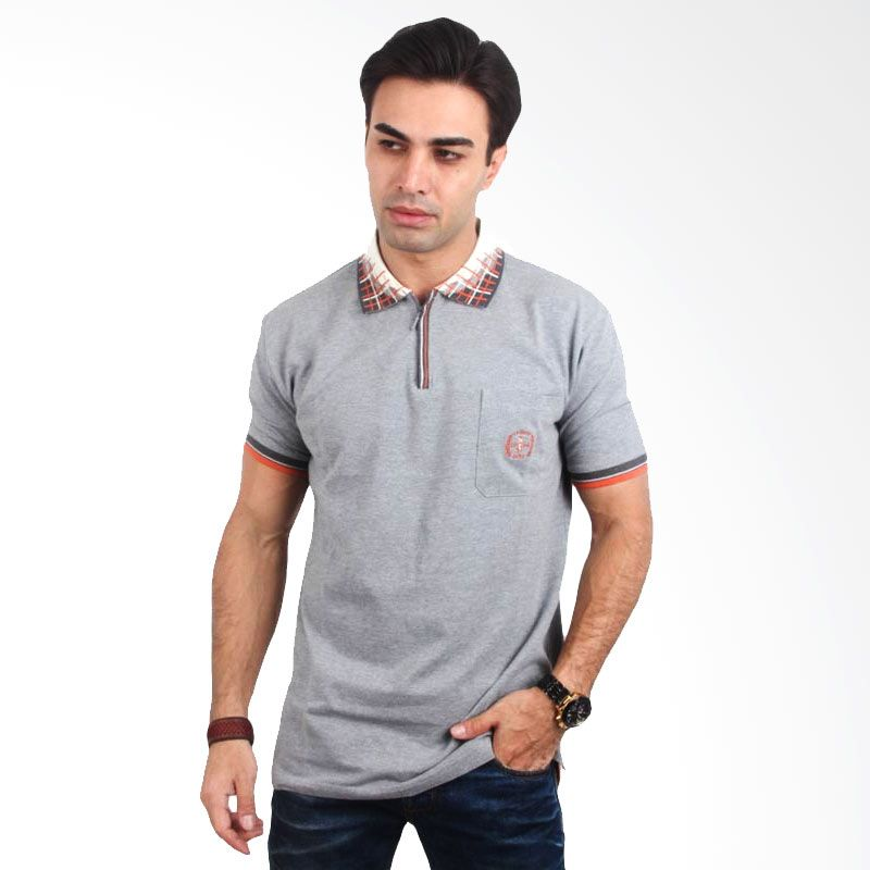 Labette Polo Shirt Light Grey