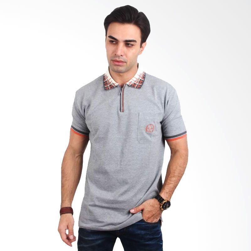 Labette Polo Shirt Light Grey Extra diskon 7% setiap hari Extra diskon 5% setiap hari Citibank – lebih hemat 10%