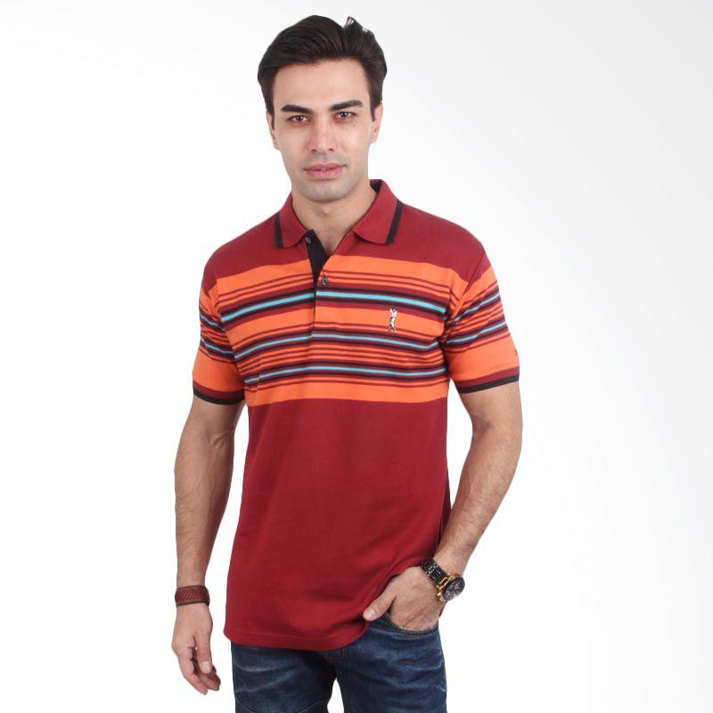 Labette Polo Shirt Red Stripe