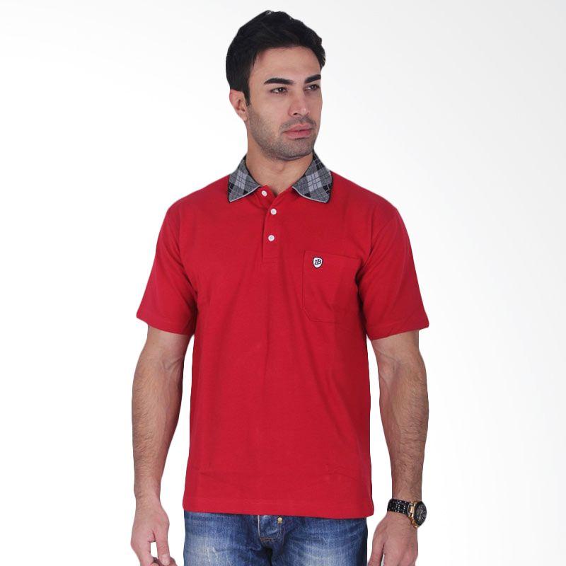 Labette Polo Shirts Dark Red