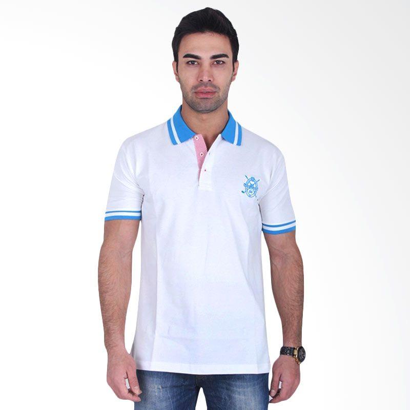 Labette Polo Shirts White Blue