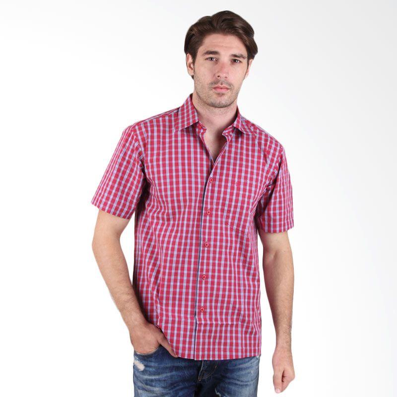 Labette Shirt 108112407 Red Kemeja Pria