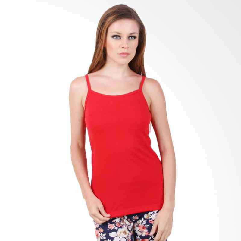 The B Club Cami Top Red