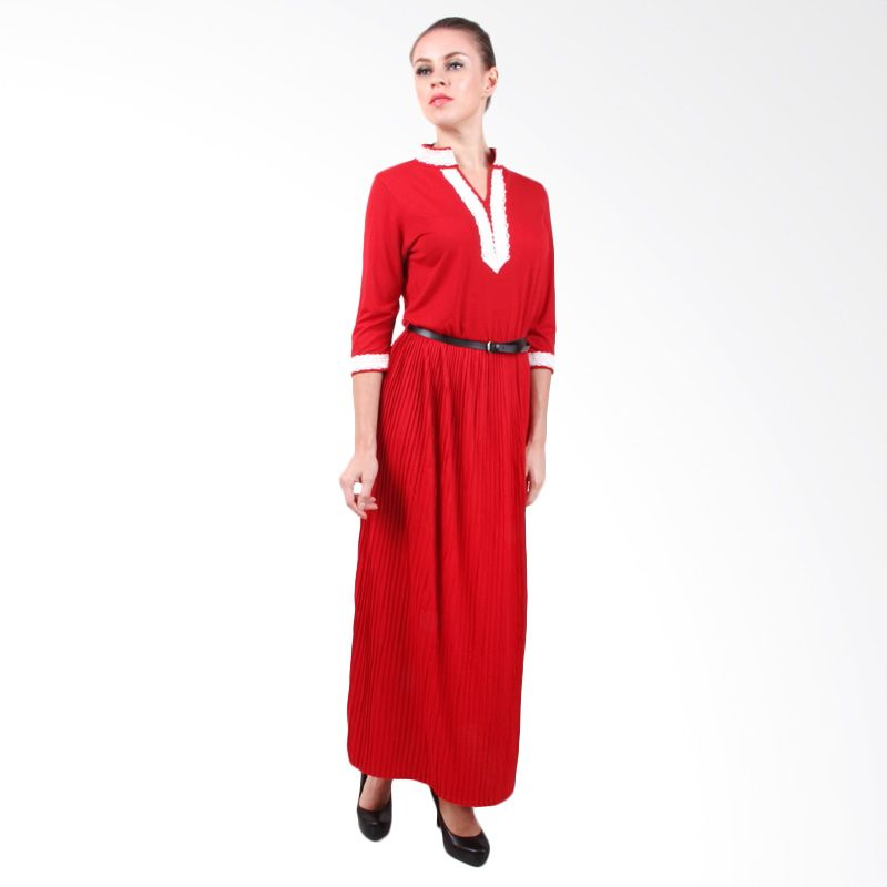 The B Club Maxi Dress Red
