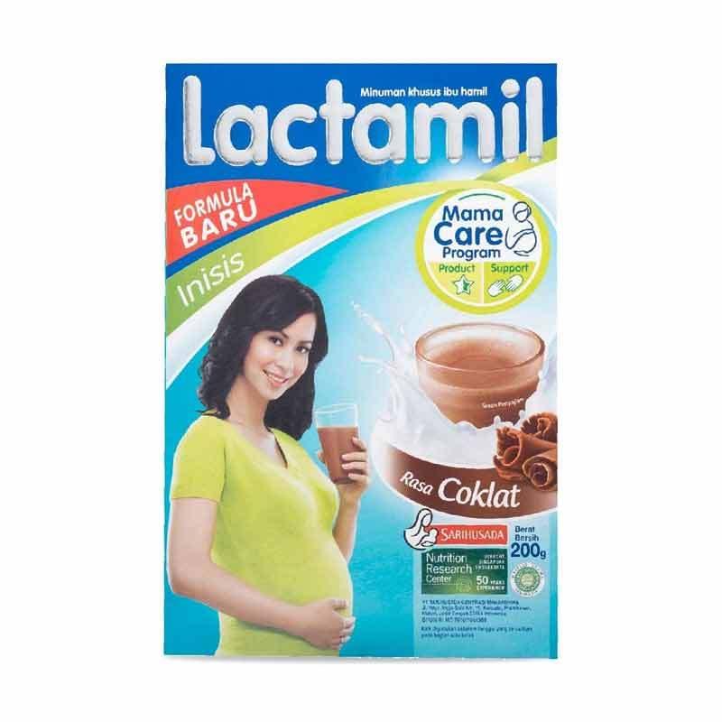 Lactamil Inisis Coklat Box [200gr]