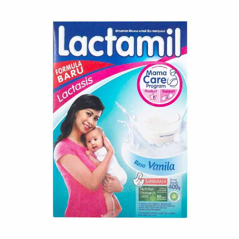 Lactamil Lactasis Vanila Susu Ibu Menyusui [400gr]