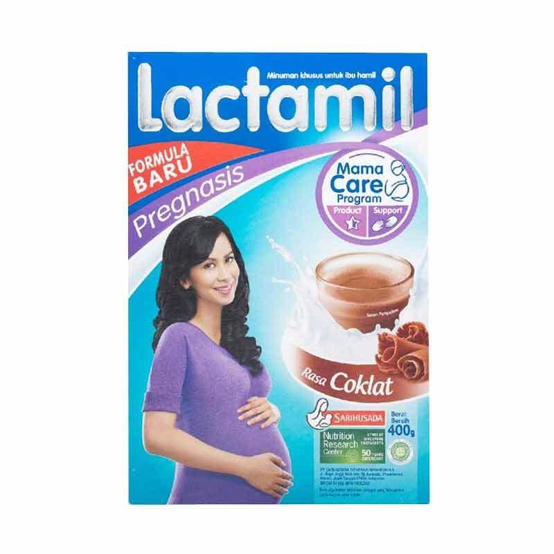 lactamil pregnasis coklat susu ibu hamil 400gr