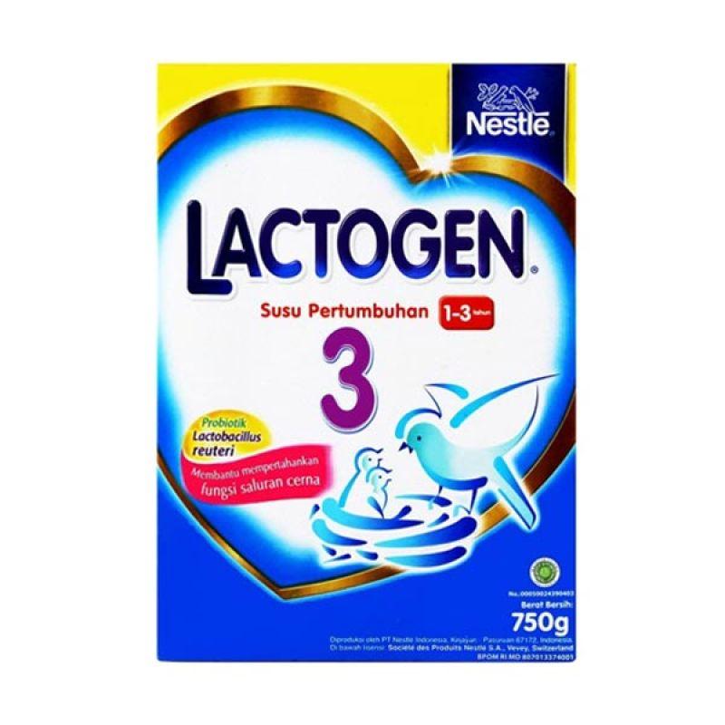harga Lactogen 3 Gold 750gr Box Blibli.com