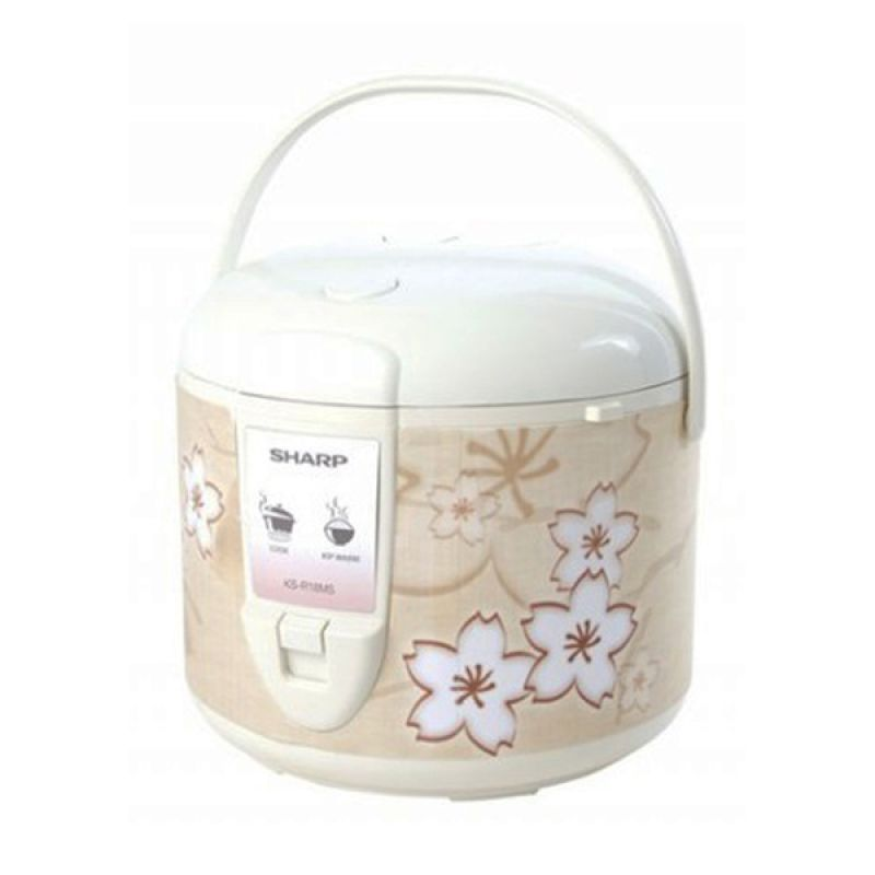Sharp KS-R18MS White Brown Rice Cooker [1.8 Liter]