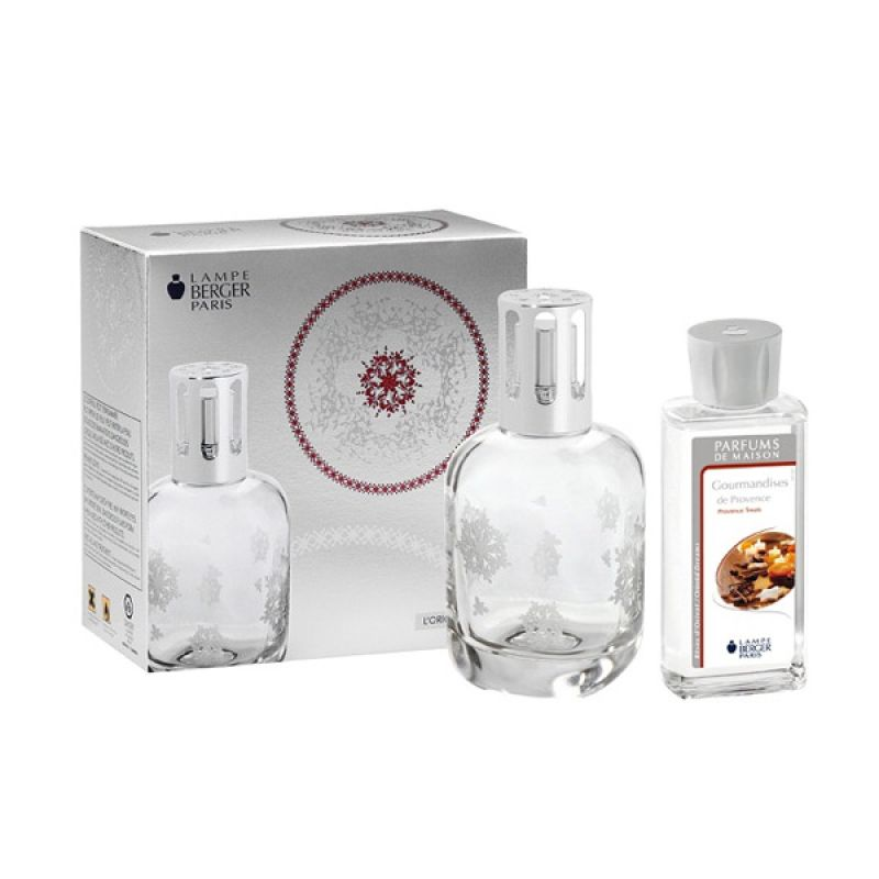 Lampe Berger Gift Set Coffret Conte Slave Transparent - Putih