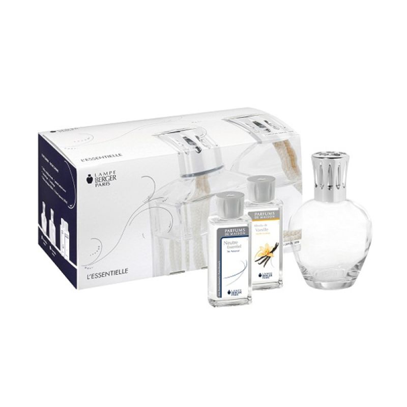 Lampe Berger Gift Set Coffret Essentielle Ronde - Putih