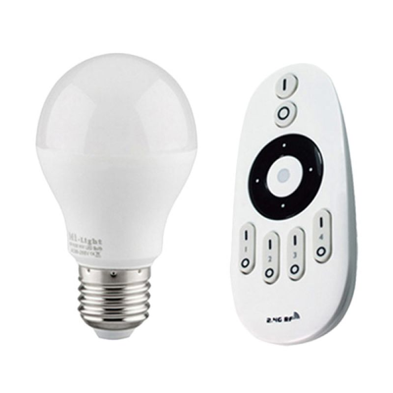 Milight LED 5 White Lampu Pintar dan Remote Control [6 Watt]