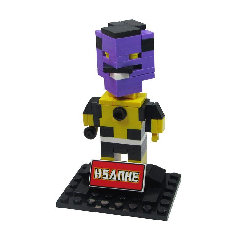 HSANHE BLOCK Cube Nano Micro World Series Thanos 6327 Mainan Blok & Puzzle