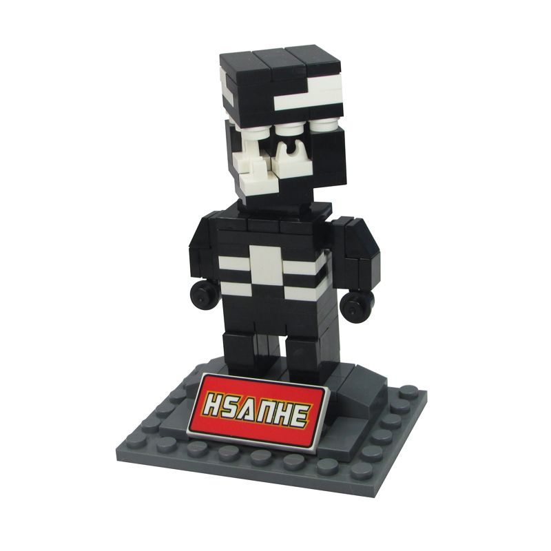 HSANHE BLOCK Cube Nano Micro World Series Venom 6322 Mainan Blok & Puzzle