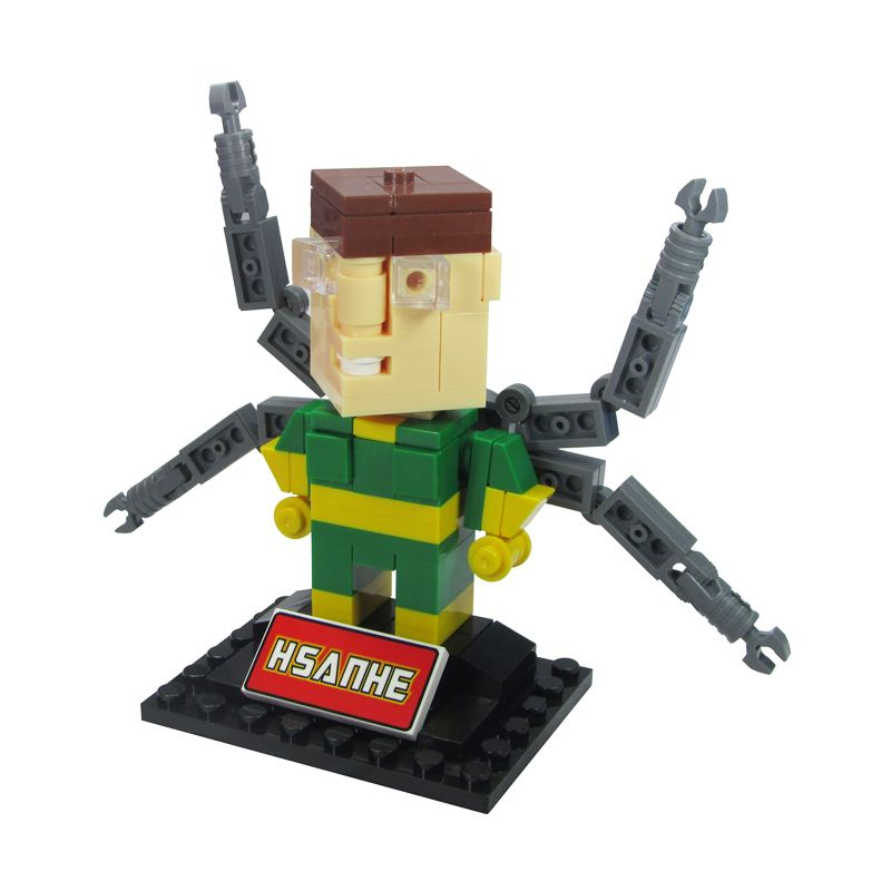 HSANHE BLOCK Cube Nano Micro World Series Doctor Octopus 6326 Mainan Blok & Puzzle