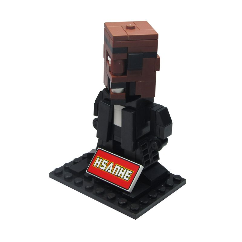 HSANHE BLOCK Cube Nano Micro World Series Nick Fury 6330 Mainan Blok & Puzzle