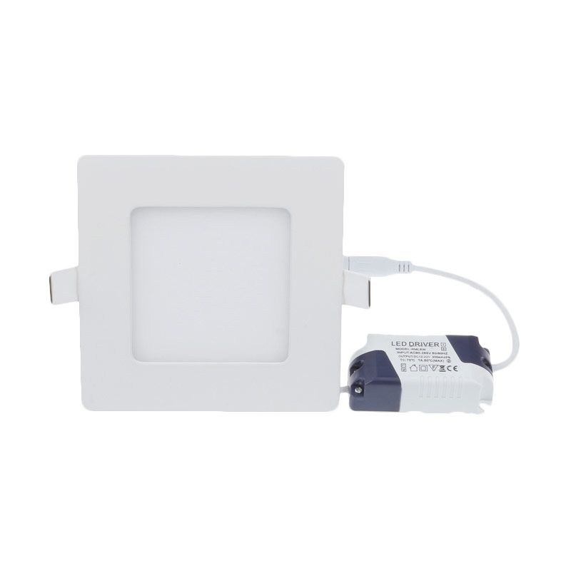 LED Square Tanam Warm White Lampu Downlight [12 Watt]