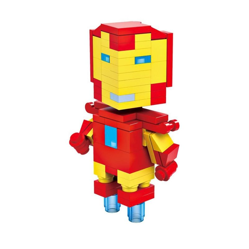 HSNHE 6302 Nano Micro World Series Iron Man Mainan Blok & Puzzle