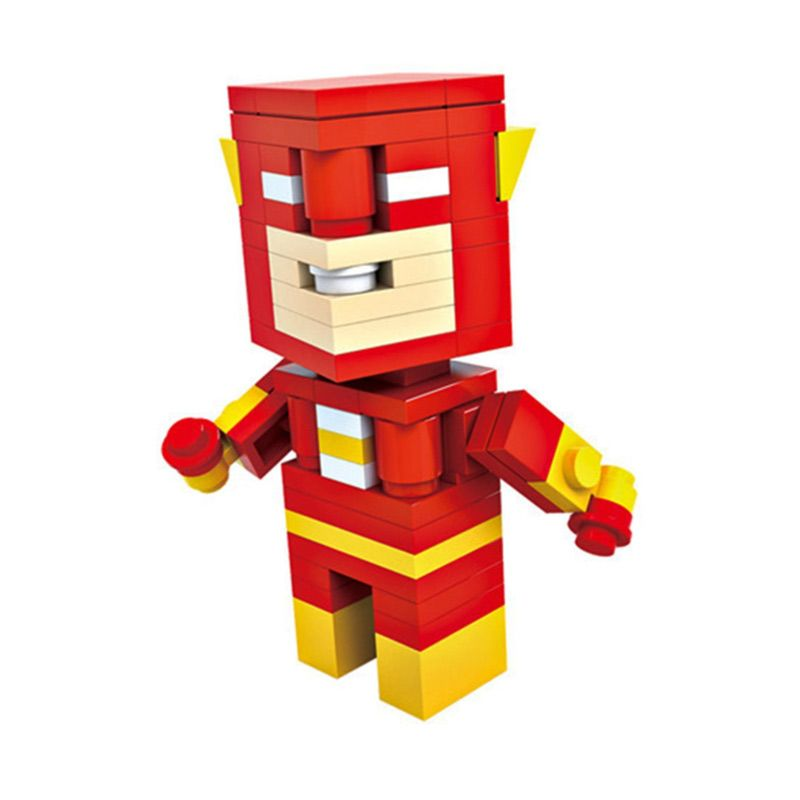 HSNHE 6309 Nano Micro World Series Flash Mainan Blok & Puzzle