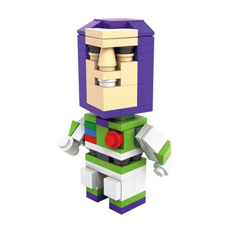 HSNHE 6316 Nano Micro World Series Buzz Lightyear Mainan Blok & Puzzle