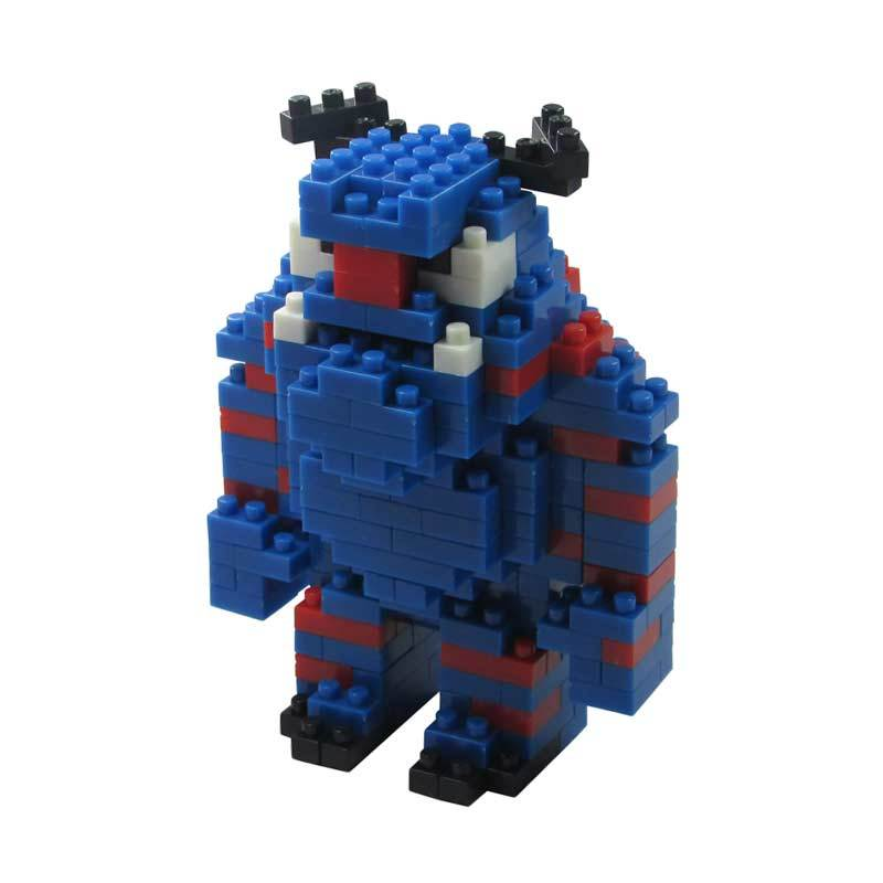 LDL 106 Lego Nano World Series Sulley Sullivan Mainan Blok & Puzzle