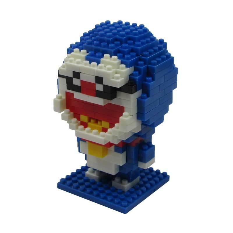 LDL 115 Lego Nano World Series Doraemon Mainan Blok & Puzzle