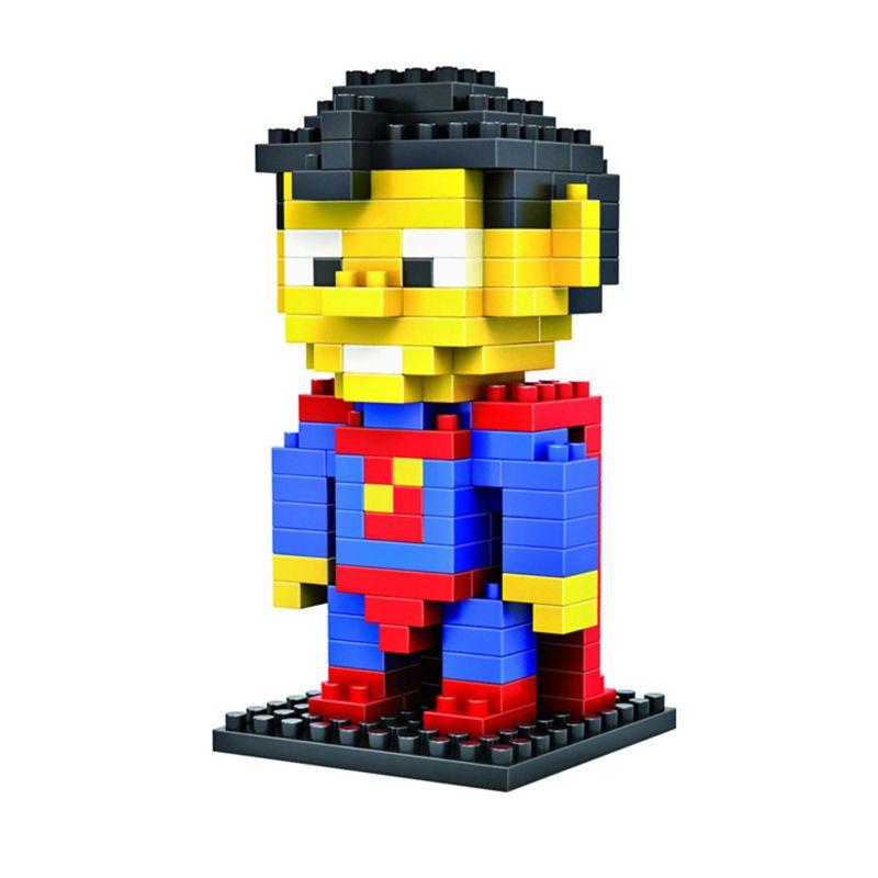 LDL 119 Lego Nano World Series Superman Mainan Blok & Puzzle