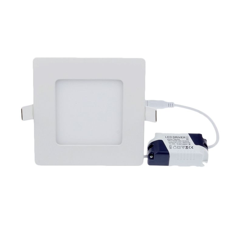 LED Warm Square Model Tanam White Lampu Panel Downlight [12 Watt]