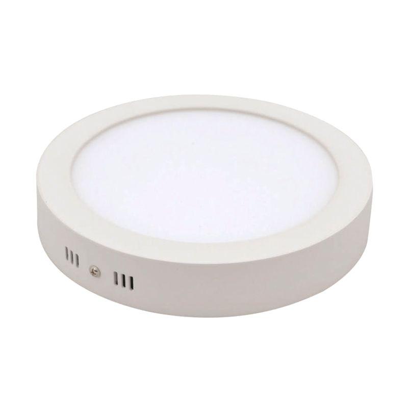 LED Round Tempel Natural White Downlight Panel Lampu [6 Watt]