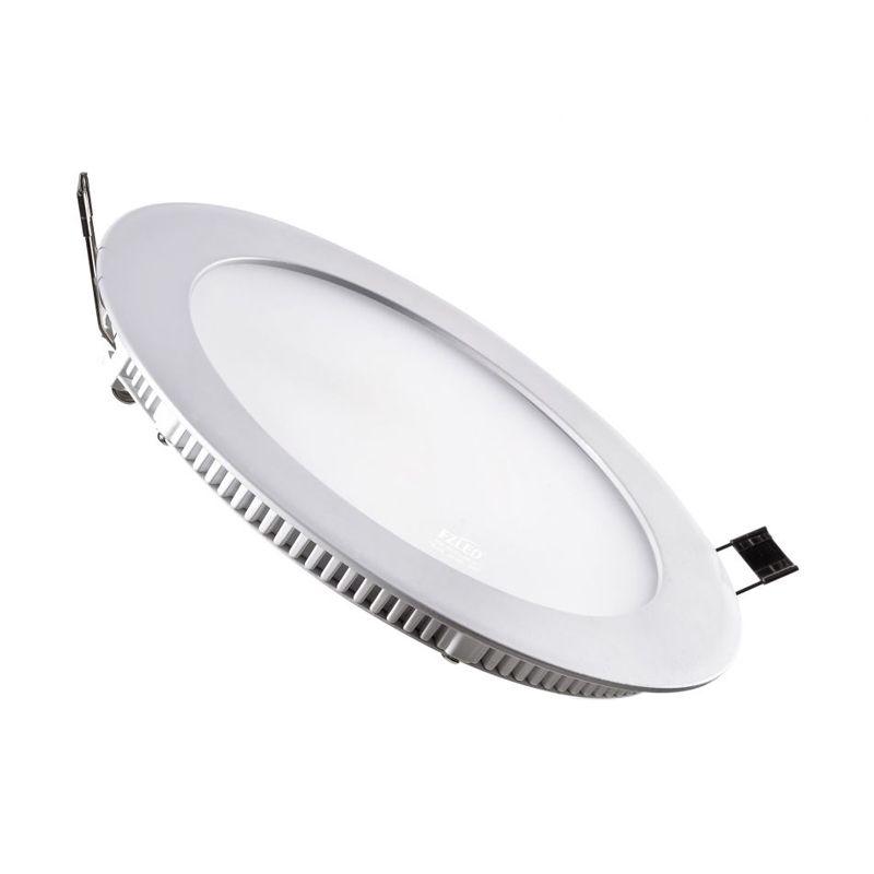 LED Round Tanam Warm White Downlight Panel Lampu [12 Watt]